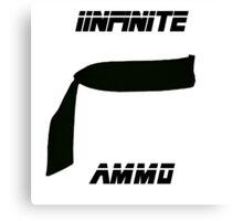 Metal Gear Infinte Ammo Canvas Print