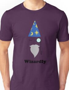 Monocle+Hat=Wizard Unisex T-Shirt