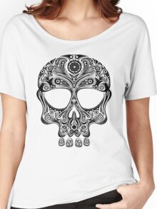 Skullsley - black Women's Relaxed Fit T-Shirt