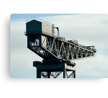 Clydeport Crane, Glasgow Canvas Print