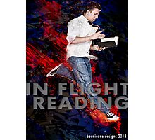 IN FLIGHT READING Photographic Print