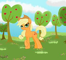 Apple Jack on Sweet Apple Acres by Arielle Campbell