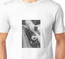 Steam Train in the Station. Unisex T-Shirt