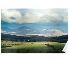 Blawith Knott in Cumbria Poster