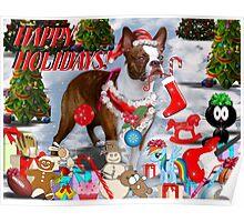 The Santa Dog Poster