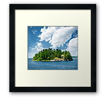 Island in Georgian Bay Framed Print