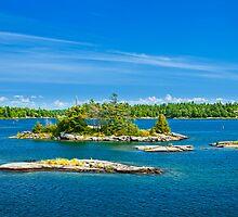 Islands in Georgian Bay by Elena Elisseeva