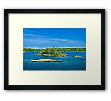 Islands in Georgian Bay Framed Print