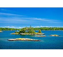 Islands in Georgian Bay Photographic Print