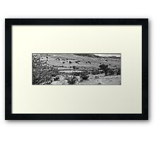 ©MS Sky View In Windy Point IIIAT In Monochrome Framed Print