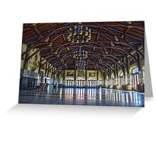 Mount Royal viewpoint chalet Greeting Card
