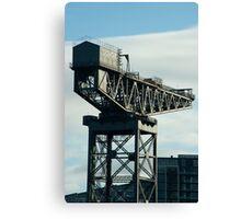 clydeport crane Canvas Print