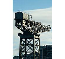 clydeport crane Photographic Print