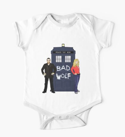 The Ninth Doctor and Rose One Piece - Short Sleeve