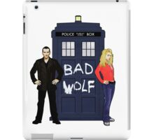 The Ninth Doctor and Rose iPad Case/Skin