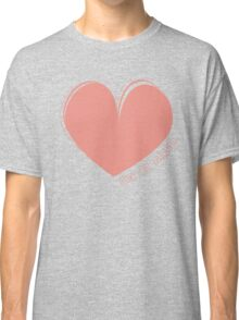 Hearty Heart Heart  Classic T-Shirt