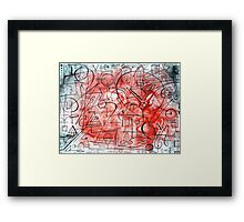 Mind of a Genius Framed Print