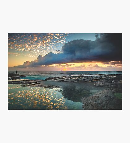Impact on the Shore Photographic Print