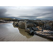 Bamburgh Beach Photographic Print