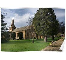 St Lawrence Church, Warkworth Poster