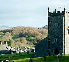 hawkshead village by photoeverywhere