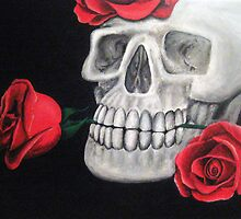 Skull and Roses by D-J-M