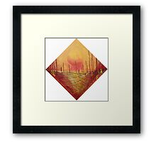 Rise Up to the Sun  Framed Print