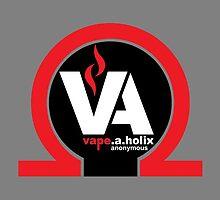 Vape-A-Holix Phone Case (Gray) by vapethreads