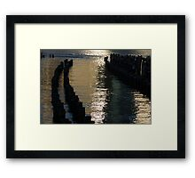 Abstract Radiant Reflections Framed Print