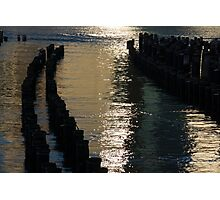 Abstract Radiant Reflections Photographic Print