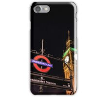 Big Ben from Westminster Station - London iPhone Case/Skin