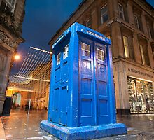 glasgow police box by photoeverywhere