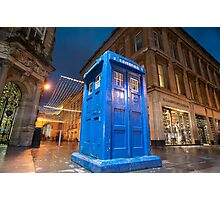 glasgow police box Photographic Print