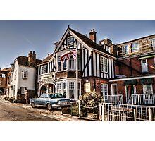 Rye Lodge Hotel - England Photographic Print