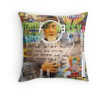 hundertwasser Throw Pillow