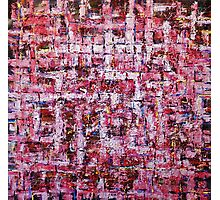 Abstraction work; Huge Highly Textured  wall Art Photographic Print
