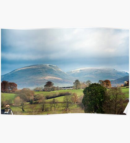Red Screes, English Lake District, Cumbria Poster
