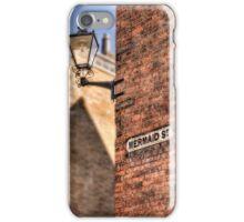 Mermaid Street - Rye iPhone Case/Skin