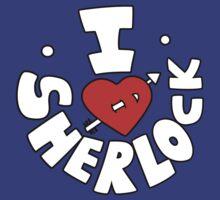 I Love Sherlock by Olipop