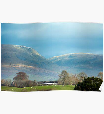 Pastoral scenery in the Lake DistrictPastoral scenery in the Lake District Poster