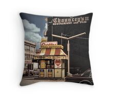 New York Vintage IV Throw Pillow