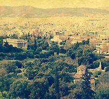 Athenian panorama by elgreko