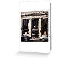New York Vintage VII Greeting Card