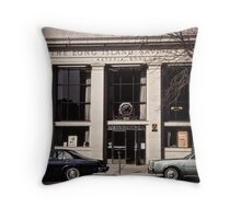New York Vintage VII Throw Pillow