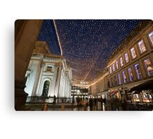 Royal Exchange Square and GOMA, Glasgow Canvas Print