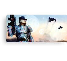 Welcome to Alpha Prime Canvas Print