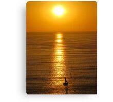 springtide's sunset II - puesta del sol en la primavera Canvas Print