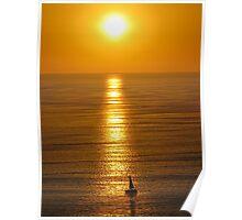 springtide's sunset II - puesta del sol en la primavera Poster