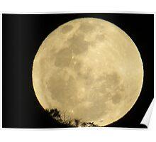 springtide's moonrise IV - salida de la luna en primavera Poster