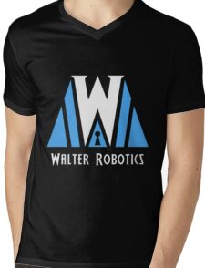 Walter Robotics  Mens V-Neck T-Shirt